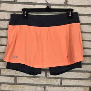 Under Armour Skort w/ Zipper Pocket on Waist